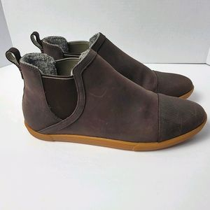 Olukai waterproof ankle booties sz 9 Dark Koa